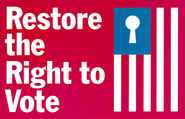 Restore the Right to Vote