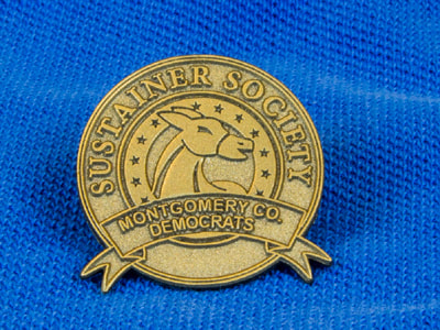 Sustainer Society Pin